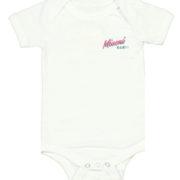 07- Miami BABY! Onesie front white