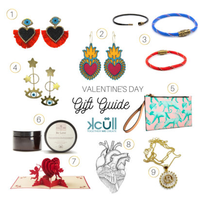 Kcull gitt giving guide for Valentine's Day with 8 different items