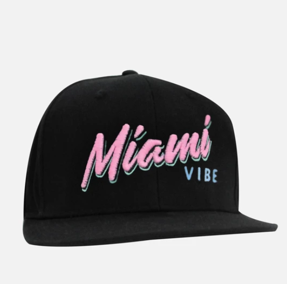 Miami VIBE Hat flat or curved brim