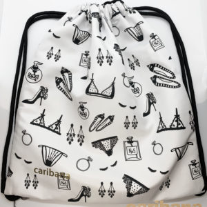 Girly Pattern Backpack 2