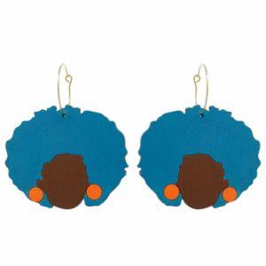 Shelley Hoop Earrings Le Chic Miami Earrings