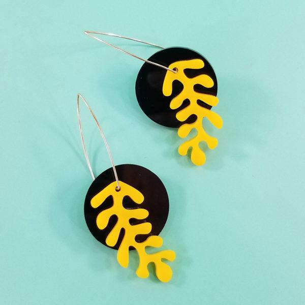 Matisse Black-Yellow
